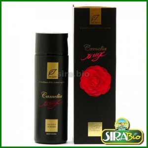 Bagnoschiuma Camelia Rouge - 200 ml